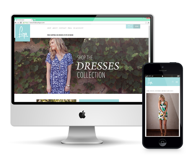 Fira Boutique E-Commerce Website