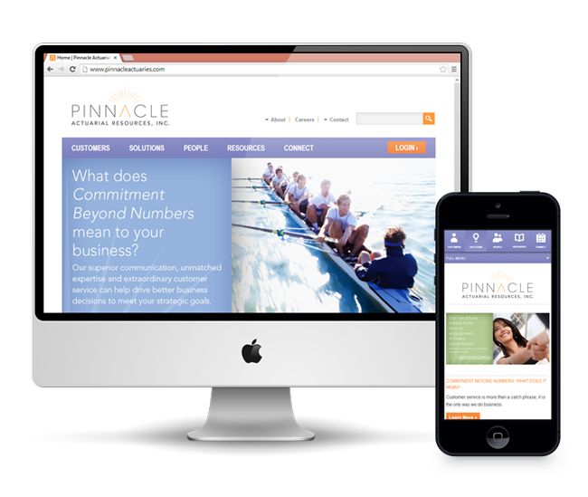 Pinnacle Actuarial Resources Website