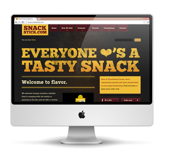 SnackStick.com Website