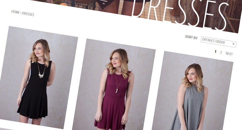 Fira dresses catalog