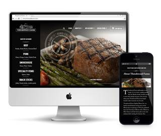 Thrushwood Farms E-commerce and CMS Website